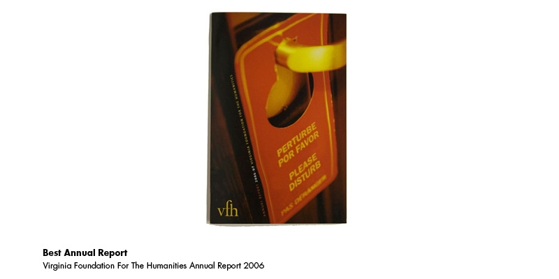 2007 Award - Best Annual Report