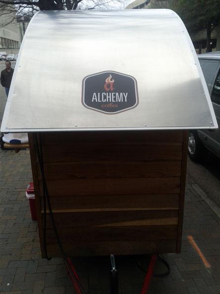 Alchemy Coffee Stand Wide Format