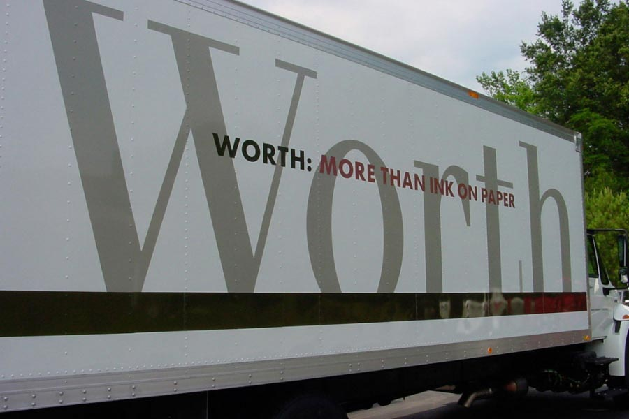 Worth Delivery Truck