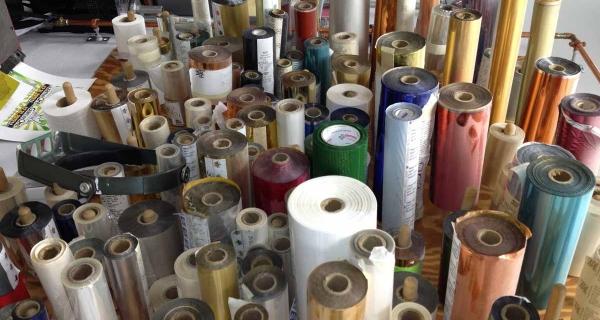 Rolls of foils for foil stamping
