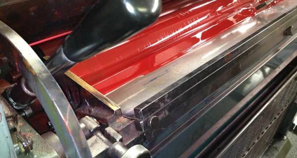 red ink roller