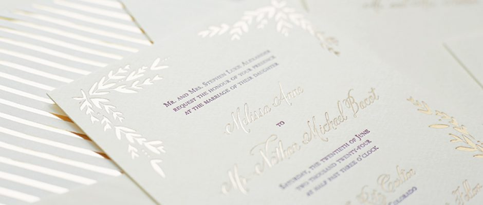Page Stationery - Melissa & Nathan