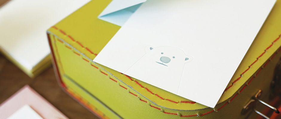 Page Stationery - Bear