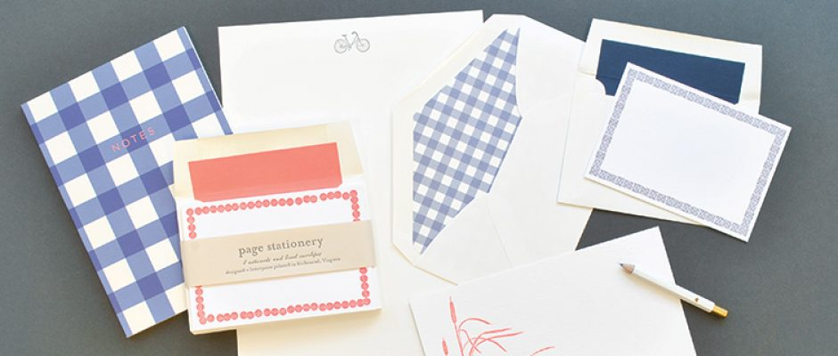 Page Stationery - Notes