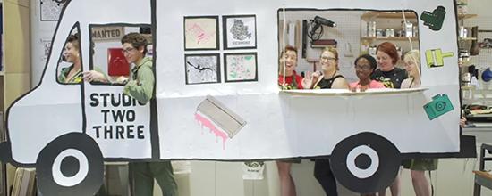 Virginia Printer helps Studio Two Three