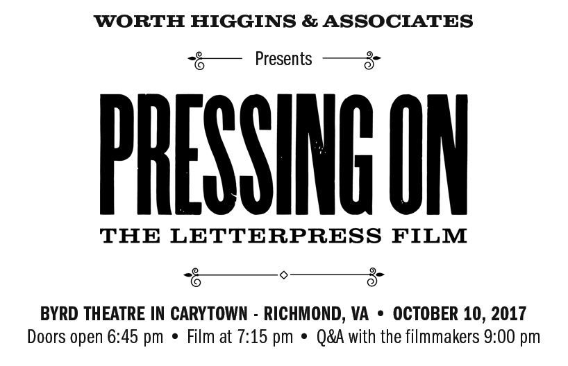 Letterpress Film