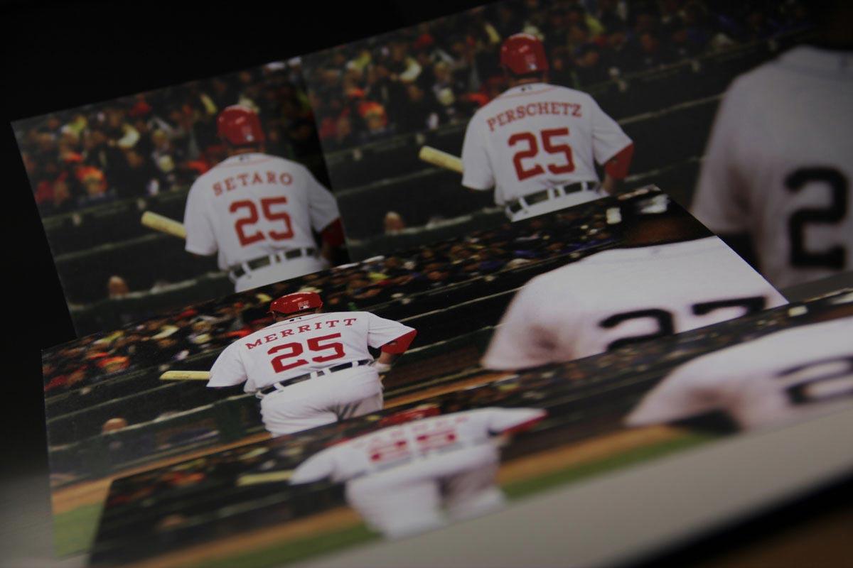 Baseball Cards - Variable Data Printing