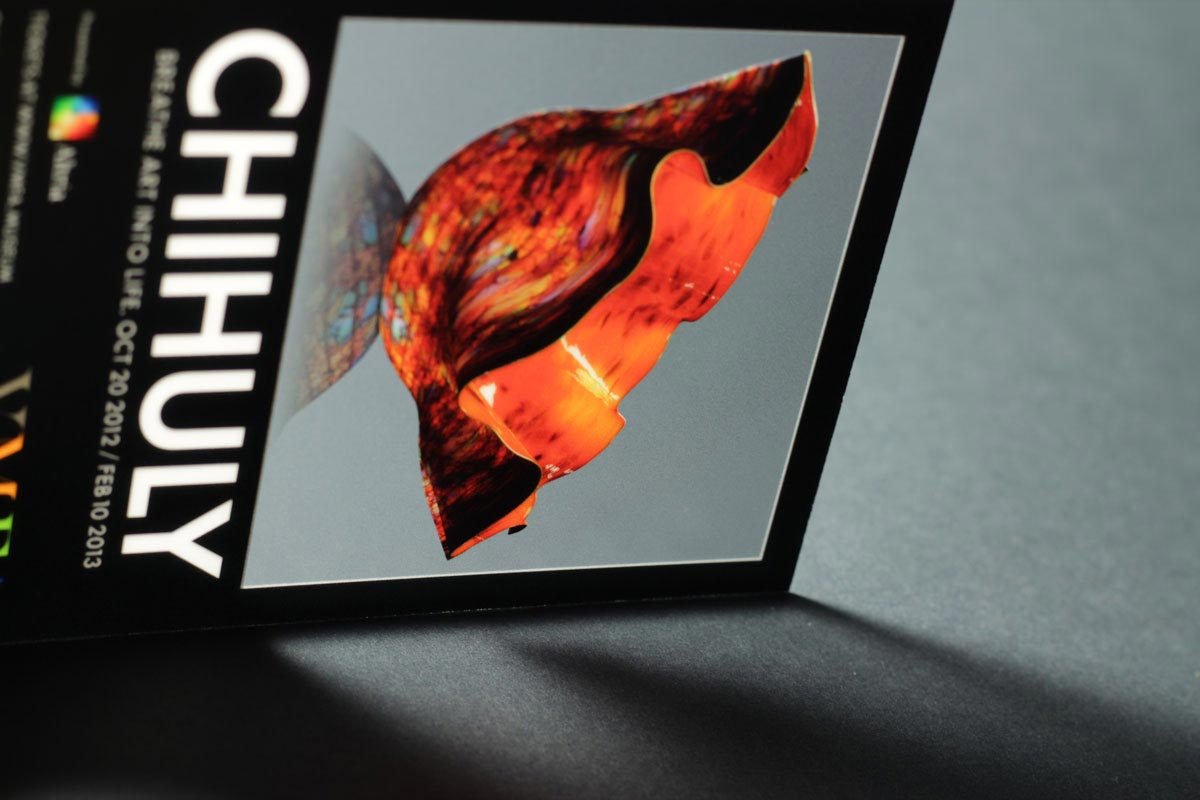 Chihuly Take Away Card