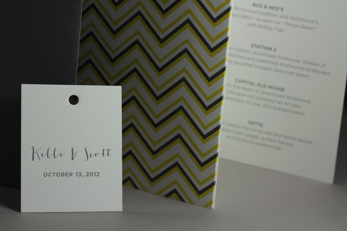 Kelli's Wedding Invitation