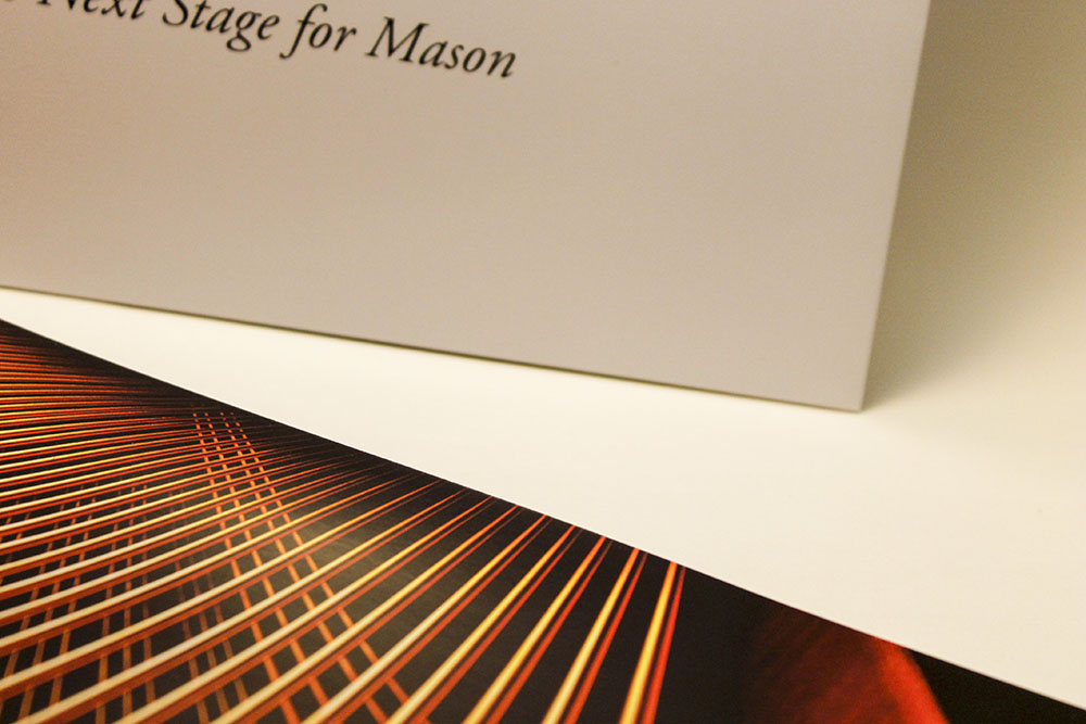 George Mason University pocket folder