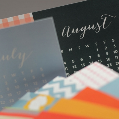 Page Stationery - Desk Calendar