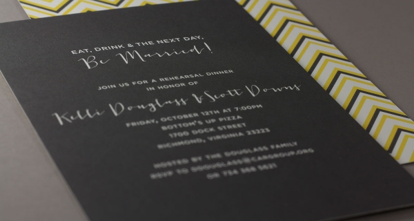 Kelli's Wedding Invitation